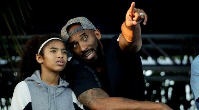 Kobe pointing